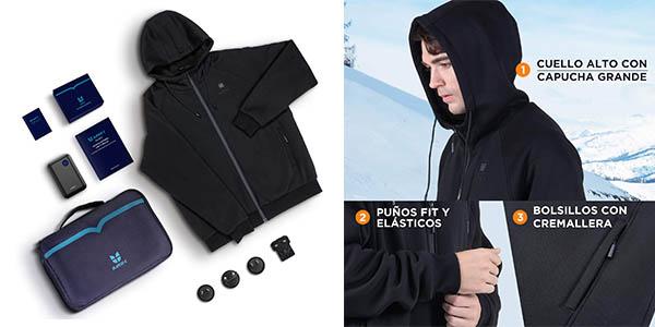 chaqueta calefactable Iurek XD940 oferta