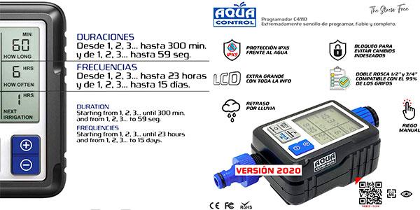 Chollo Programador digital de riego Aqua Control Full Vision
