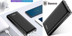 Chollo Batería externa Baseus de 30.000 mAh