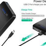Chollo Batería externa Choetech de 20.000 mAh con USB-C y USB-A de carga rápida
