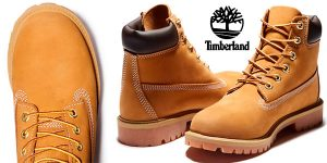 Chollo Botas Timberland Premium Junior de piel