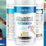Chollo Bote Saiko de colágeno masticable con magnesio y vitamina C de 160 comprimidos