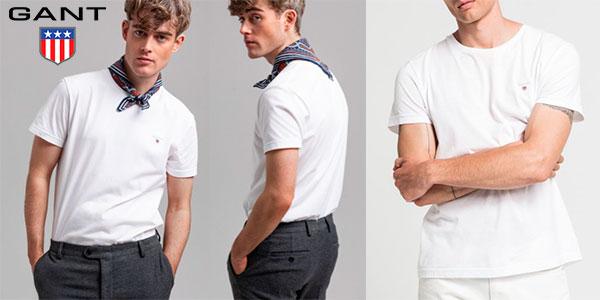 Chollo Camiseta Gant Solid para hombre