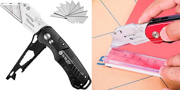 Chollo Cúter multifunción Bibury con 10 cuchillas SK5