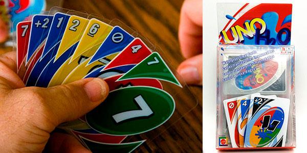 Chollo Juego de cartas UNO H2O