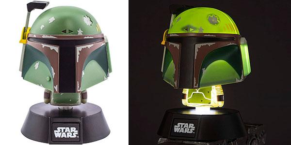 Chollo Lámpara 3D Star Wars Boba Fett Icon de Paladone