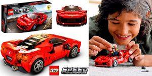 Chollo Set Ferrari F8 Tributo de LEGO
