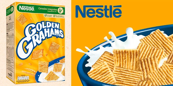 Chollo Lote de 12 paquetes de cereales Nestlé Golden Grahams de 420 g