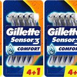 Chollo Pack de 15 maquinillas desechables Gillette Sensor3