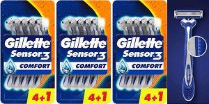 Chollo Pack de 15 maquinillas desechables Gillette Sensor3