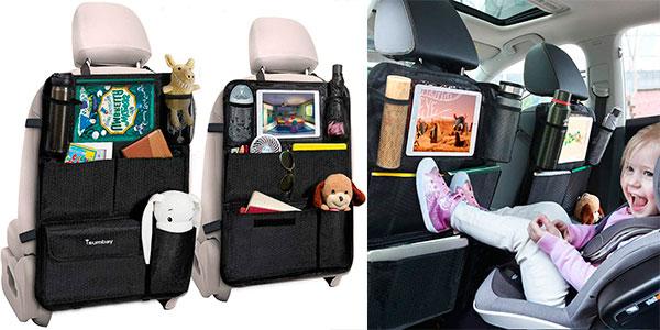 Chollo Pack de 2 Organizadores para asiento de coche