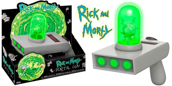 Chollo Pistola Funko Rick & Morty con luz y sonido