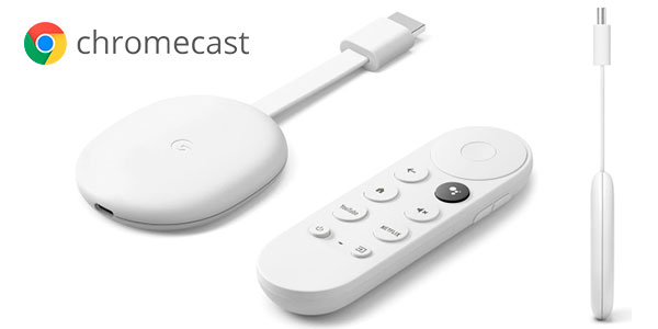 Chollo Reproductor multimedia Google Chromecast con Google TV