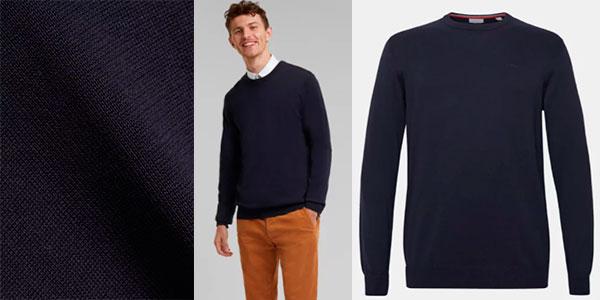 Suéter Esprit de algodón para hombre barato