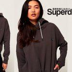 Chollo Sudadera SuperDry Elite con capucha para mujer