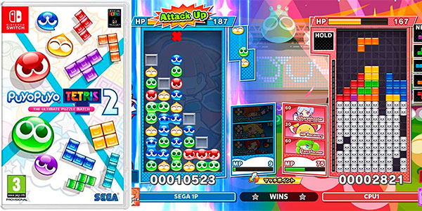 Chollo Puyo Puyo Tetris 2 para Switch