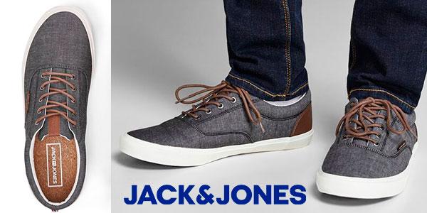 Chollo Zapatillas Jack & Jones de lona para hombre