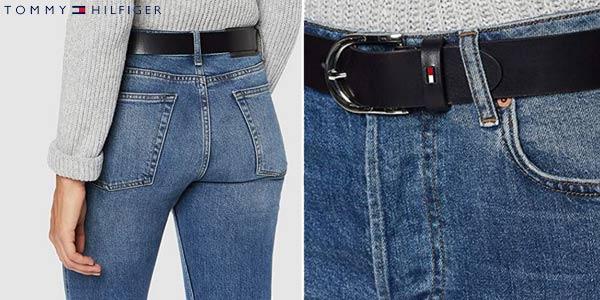 Cinturón Tommy Hilfiger New Danny Belt para mujer chollo en Amazon