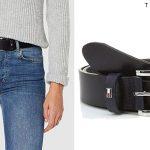 Cinturón Tommy Hilfiger New Danny Belt para mujer barato en Amazon