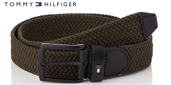 Cinturón Tommy Hilfiger Denton Elastic para hombre barato en Amazon