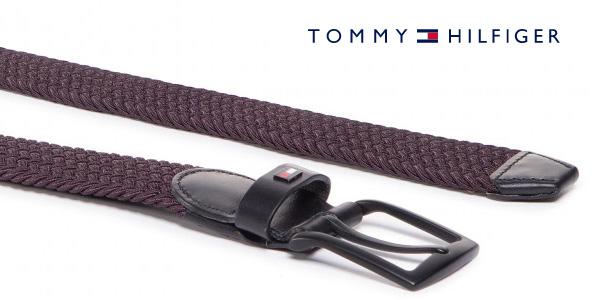 Cinturón Tommy Hilfiger Denton Elastic para hombre chollo en Amazon