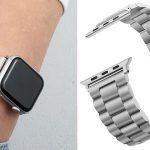 Correa metálica Carouse para Apple Watch barata en AliExpress