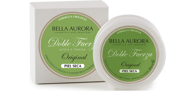 Crema facial Anti-Manchas Doble Fuerza Bella Aurora de 30 ml barata en Amazon