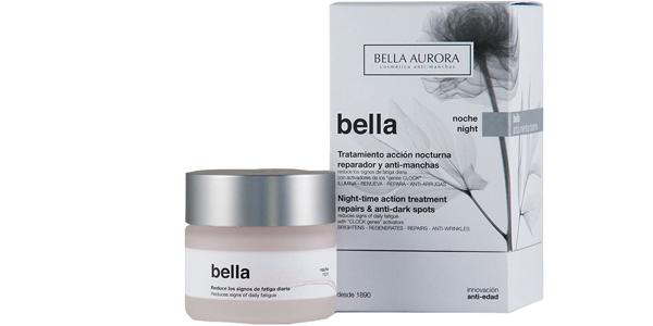 Bella Aurora Bella Crema Facial Noche Anti-Arrugas y Anti-Edad de 50 ml barata en Amazon