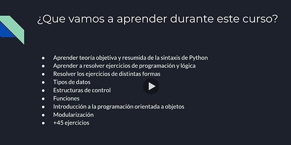 curso iniciación Python gratuito Udemy