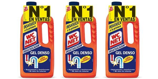 Pack x3 WC Net Desatascador Energy de 1L barato en Amazon