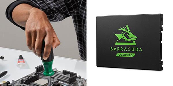Disco SSD Seagate BarraCuda 120 de 1 TB barato