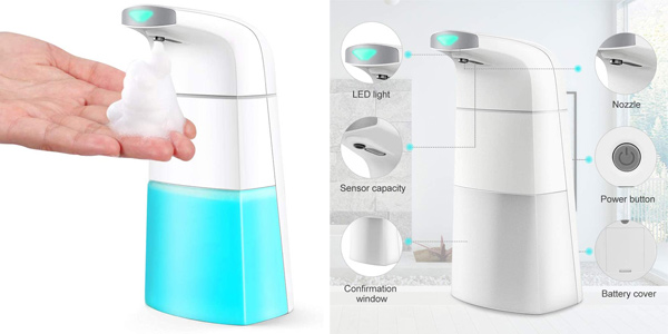 Dispensador de jabón automático Topersun barato en Amazon