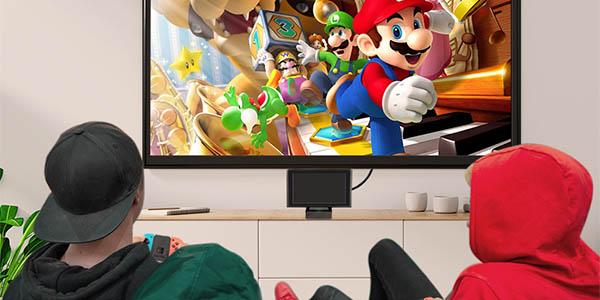 Base de carga innoAura para Nintendo Switch en Amazon