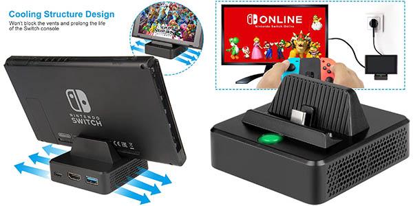 Base de carga innoAura para Nintendo Switch barata