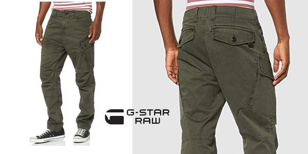 Pantalones G-Star Raw Roxic Tapered Cargo baratos en Amazon