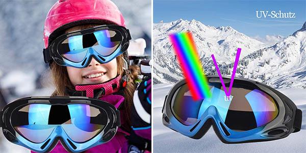 gafas de esquí con protección solar para niños Fengzio chollo
