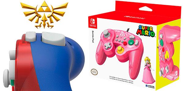 Battle Pad Hori de Zelda, Mario y Peach para Switch barato