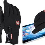 Guantes windproof táctiles