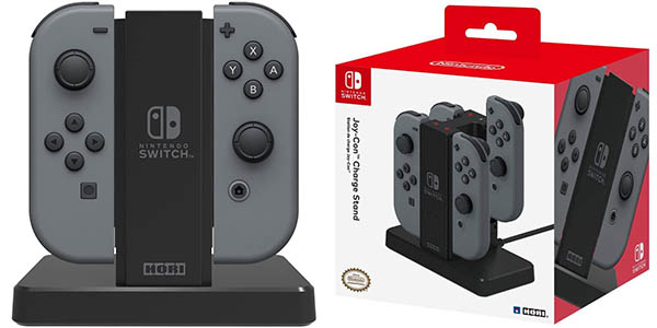 Estación de carga doble Hori Charge-Stand para Joy-Con de Nintendo Switch