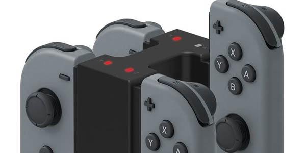 Estación de carga doble Hori Charge-Stand para Joy-Con de Nintendo Switch en Amazon