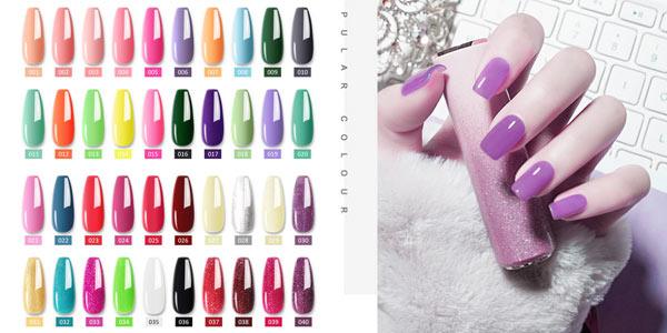 Juego de manicura con lámpara LED secadora de uñas oferta en AliExpress