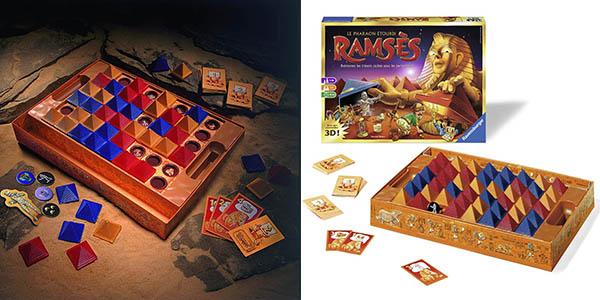 juego mesa familiar Ravensburger Ramses chollo