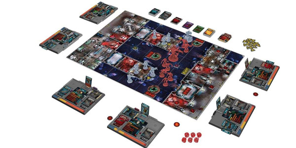 Juego de mesa Zombicide Invader de Dark Side (EECMZI03) oferta en Amazon