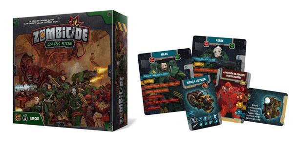 Juego de mesa Zombicide Invader de Dark Side (EECMZI03) barato en Amazon