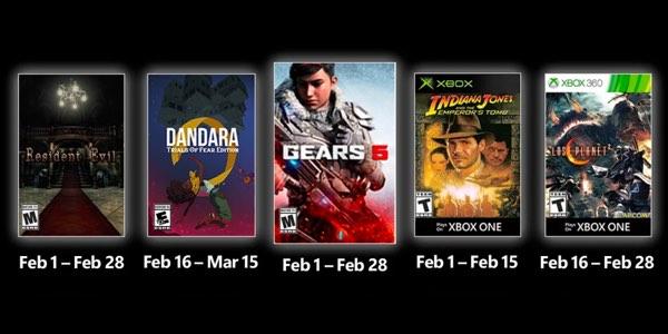 Juegos gratis con Gold febrero 2021