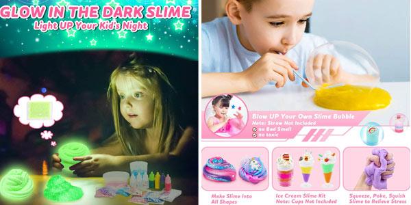 Kit 45 piezas DIY de Slime Dookey oferta en Amazon