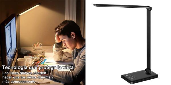 Lámpara Escritorio LED Stator con 10 niveles de brillo y temporizador barata en Amazon