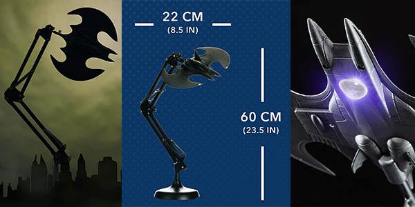 lámpara escritorio diseño Batman Paladone chollo