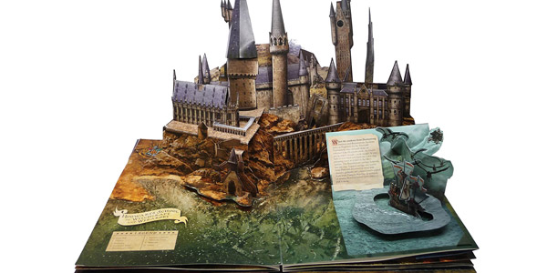 Libro Pop-Up Harry Potter de Insight Editions oferta en Amazon