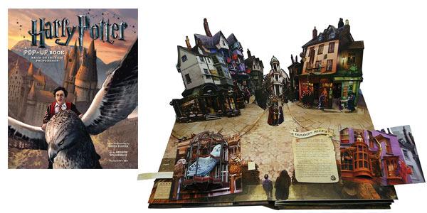 Libro Pop-Up Harry Potter de Insight Editions barato en Amazon